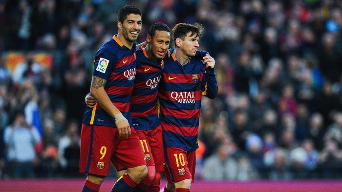 Neymar saat masih memperkuat Barcelona. (Foto: David Ramos/Getty Images)