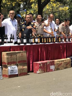 Penyelundupan 50 Ribu Minuman Beralkohol Asal Singapura Digagalkan