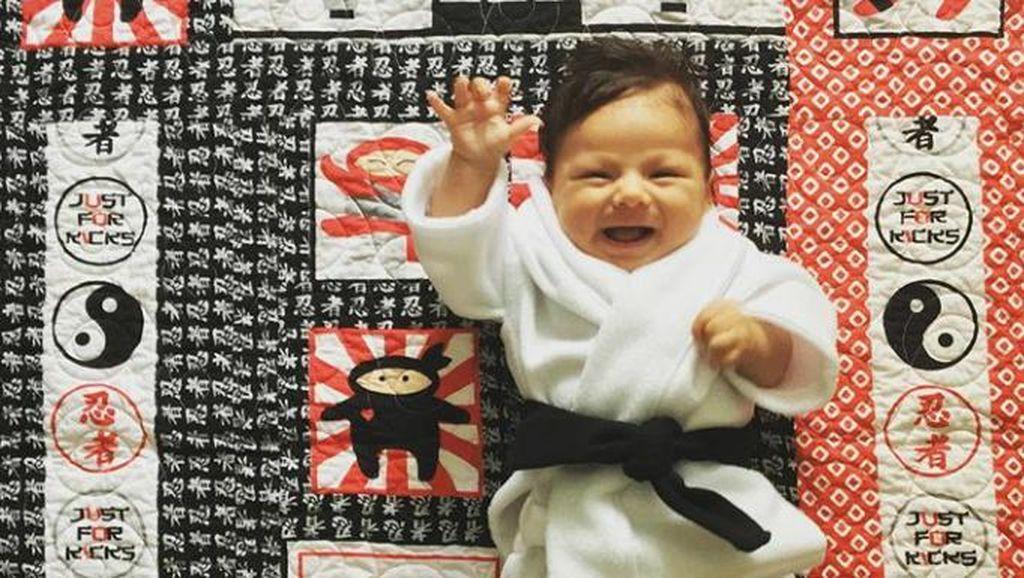 Foto: Ciat! Kecil-kecil Sudah Kenal Karate