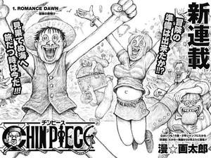 Manga Chin Piece Parodikan One Piece?