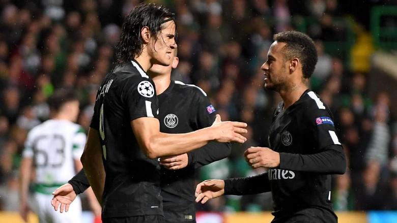 Cavani Mengaku Tak Punya Masalah dengan Neymar