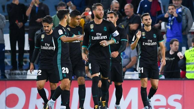 Selalu Bikin Gol dalam 73 Laga Beruntun, Madrid Samai Rekor Dunia Milik Santos