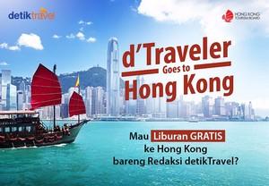 Mau Jalan-jalan Gratis ke Hong Kong 4 Hari 3 Malam?