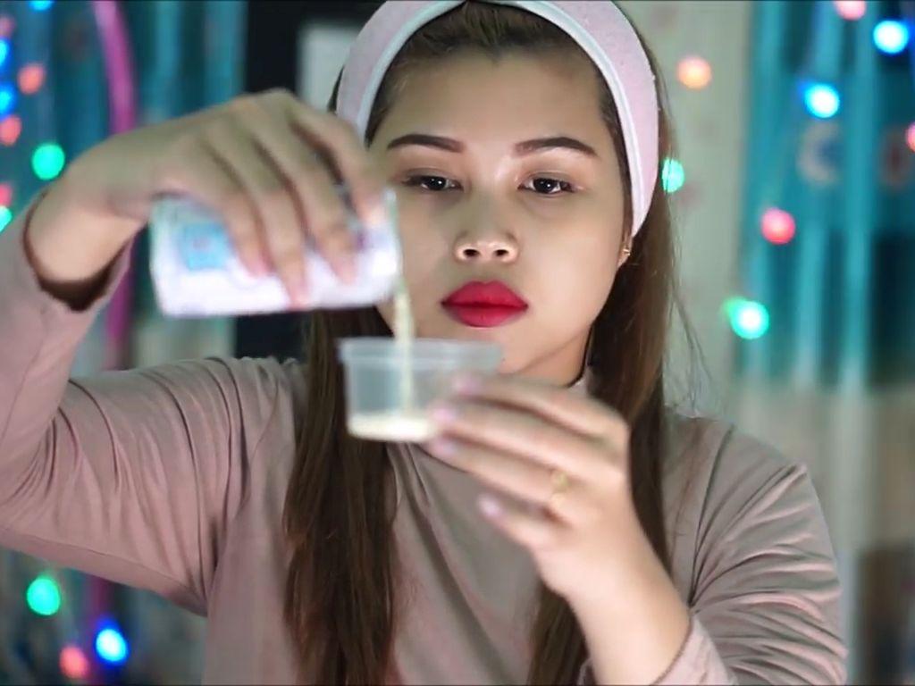 Cerita Wulan, Wanita yang Viral Karena Tips Putihkan Wajah Pakai Susu Beruang