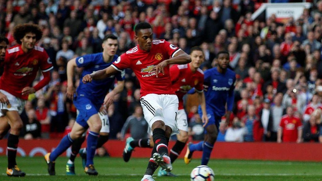 Mourinho: Martial Terus Lebih Baik Setiap Hari
