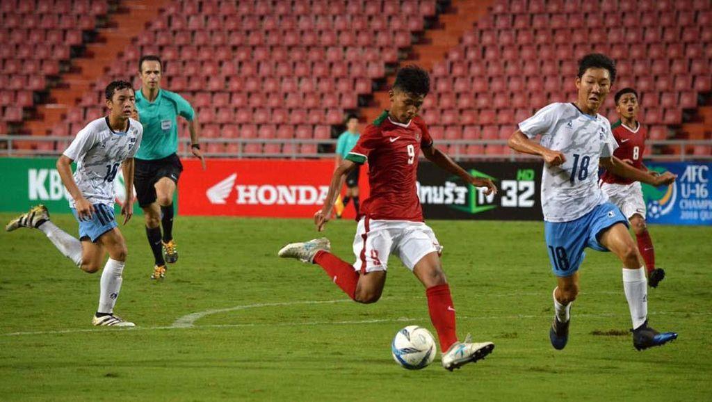 Timnas U-16 Memulai dengan Pesta Gol