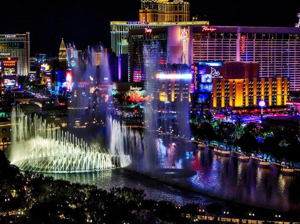 Hotel dan Tempat Judi di Las Vegas Juga Tutup Karena Corona
