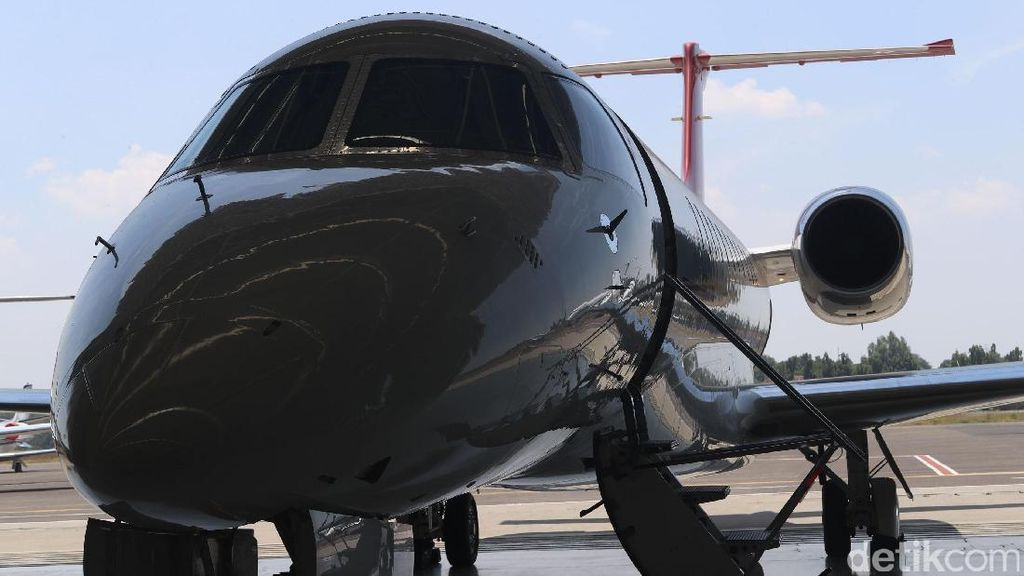 Foto: Mewahnya Pesawat Jet Pribadi Carteran Para Pengusaha