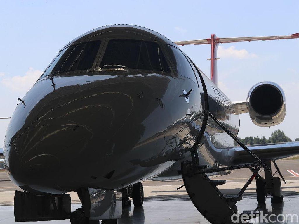 Menjajal Nyamannya Jet Pribadi, Bak Pebisnis Papan Atas