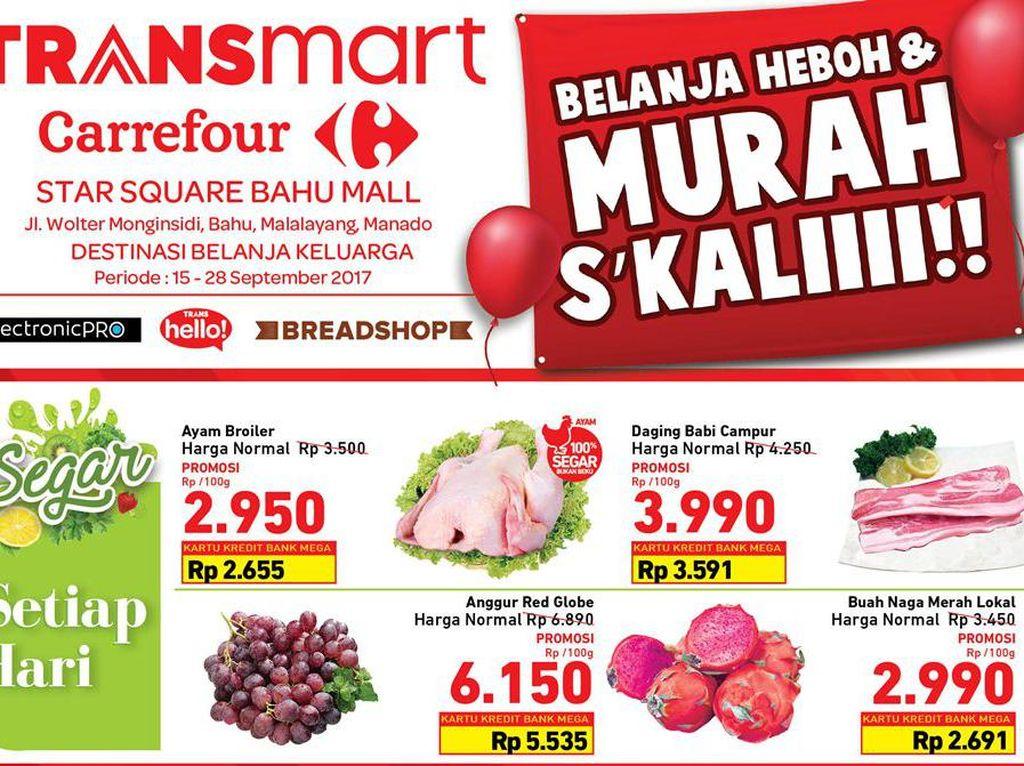 Transmart Carrefour Star Square Manado Tawarkan Promo Spesial