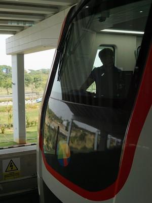 Naik Skytrain, Pindah Terminal di Bandara Soetta Jadi Lebih Mudah