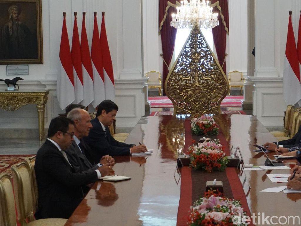 Temui Jokowi, WIPO Bahas Kekayaan Intelektual RI Agar Diakui Dunia