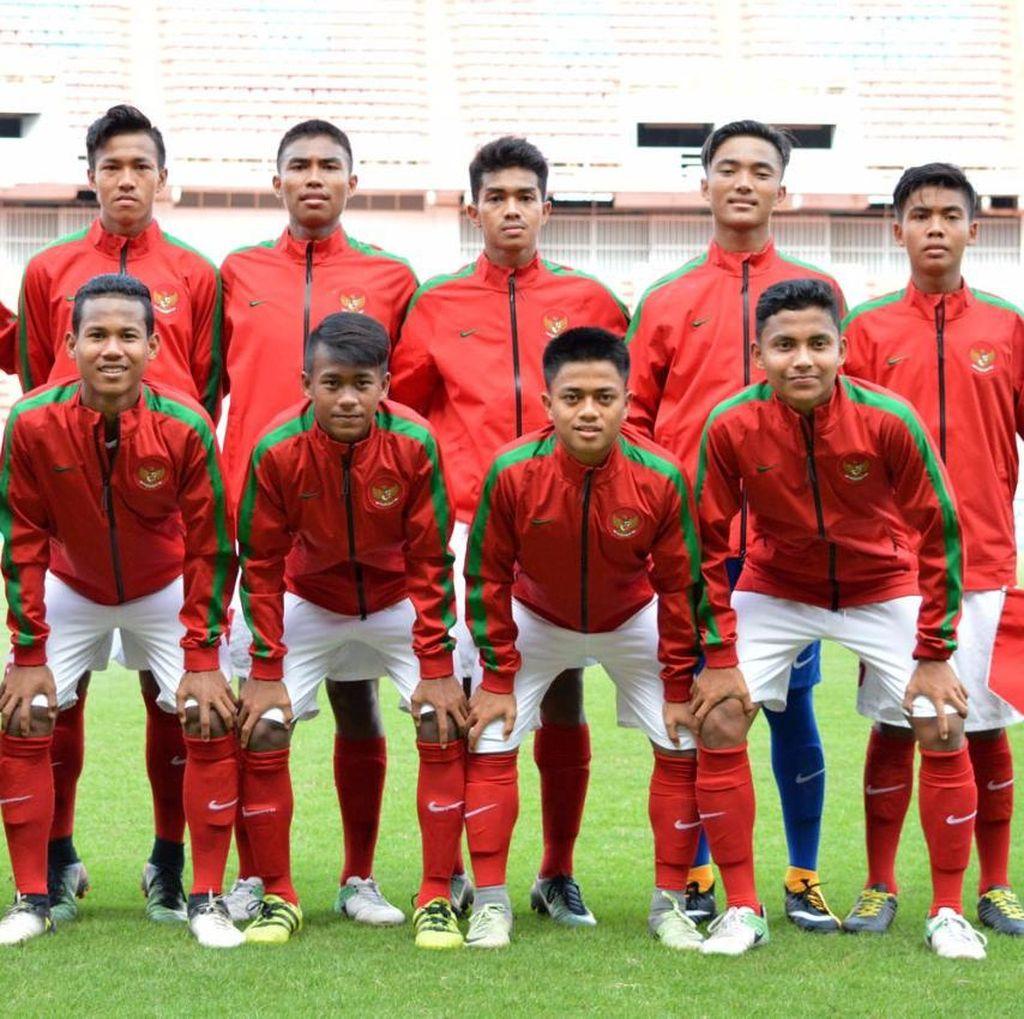 Kalahkan Laos 3-0, Indonesia Lolos ke Piala Asia U-16