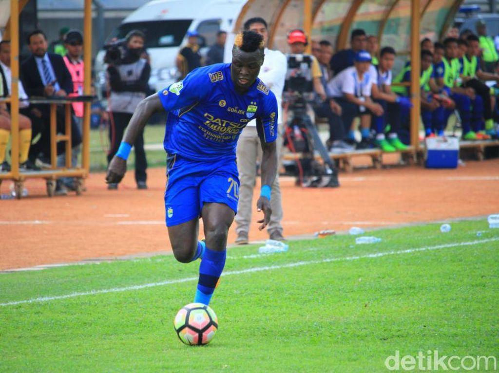 Tinggalkan Persib, Ezechiel NDouassel Gabung Bhayangkara FC