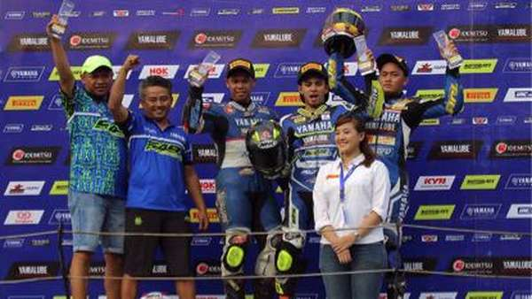 Pebalap Indonesia Timur Dominan di Seri 3 Yamaha Sunday Race
