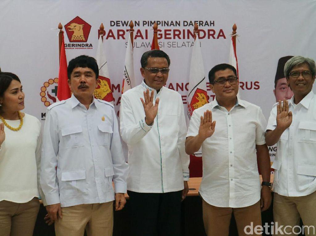 Gerindra Dukung Nurdin Abdullah di Pilgub Sulsel 2018