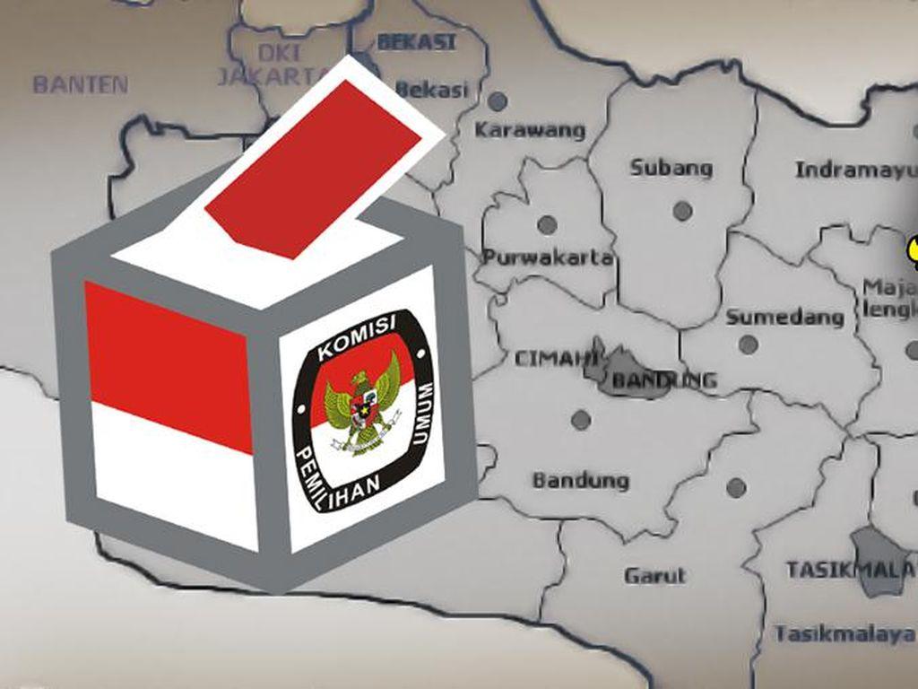 KPU Klaim Pilgub Jabar Aman, Tingkat Partisipasi 71 Persen