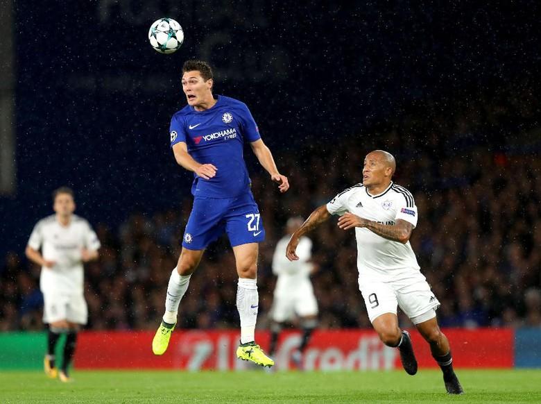 David Luiz Absen, Chelsea Percaya kepada Christensen