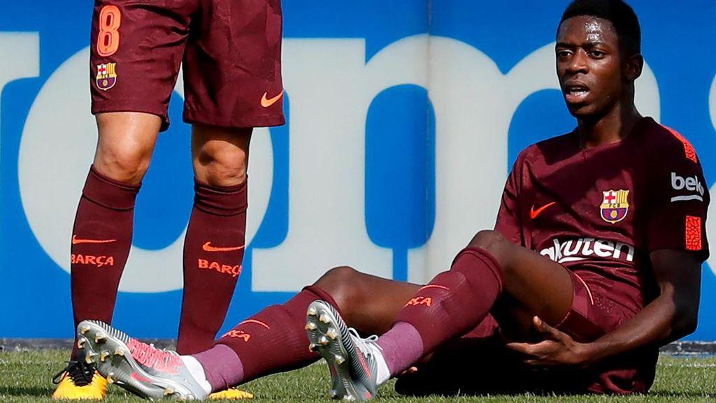 Dembele Absen Lama, Barca Tak Berencana Belanja di Bursa Transfer Januari