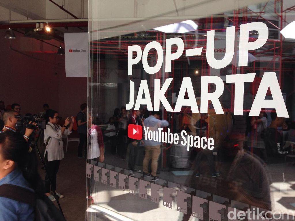 Fasilitas Pop-Up Space di Jakarta yang Manjakan YouTuber