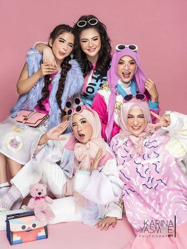 Foto: Ketika Natasha Rizki Hingga Adik Zaskia Adya Mecca Makara 'Barbie'