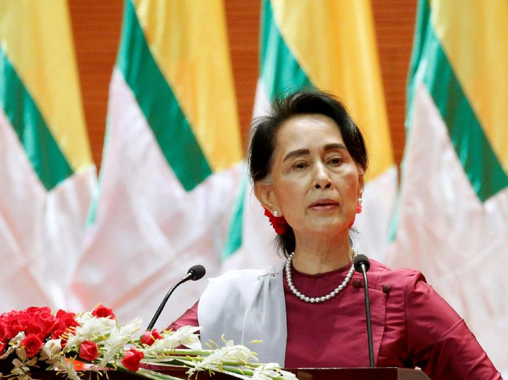Suu Kyi Susun Rencana Kemanusiaan untuk Akhiri Krisis Rohingya