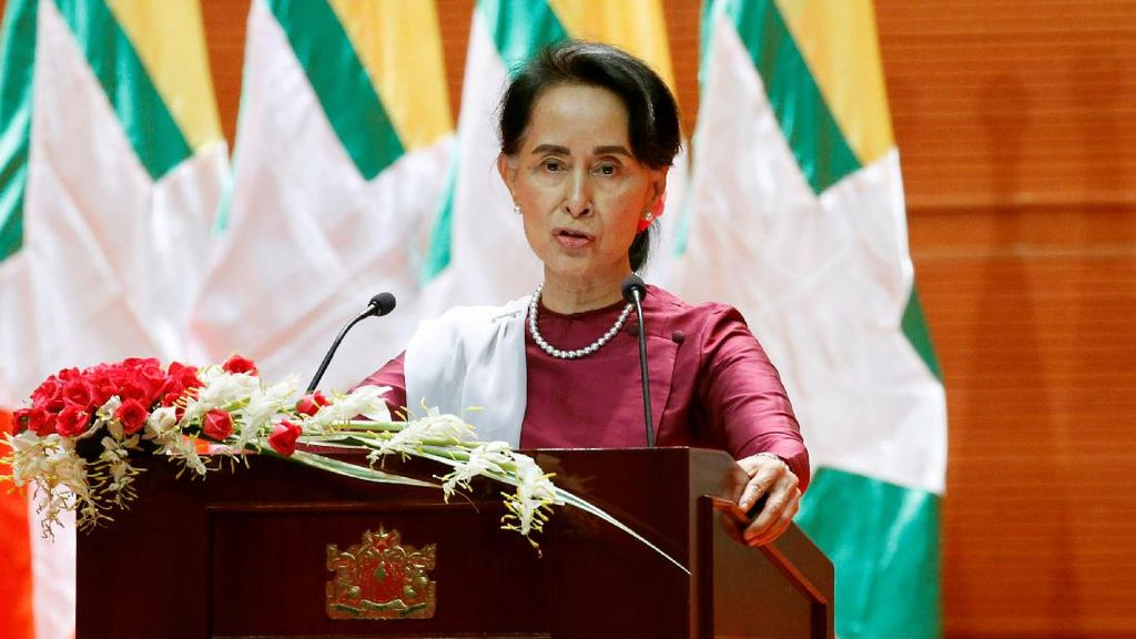 Suu Kyi Berkilah Mayoritas Warga Muslim Tetap Tinggal di Rakhine