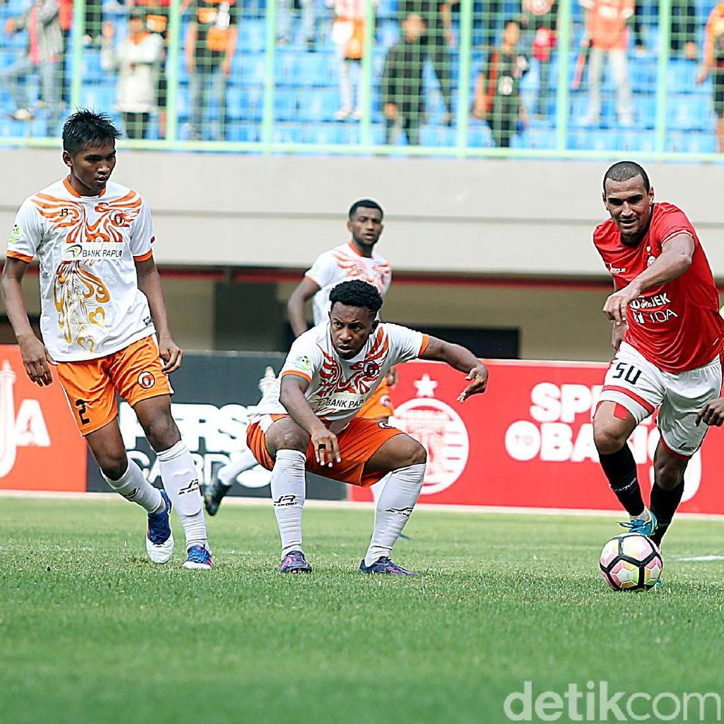 Dikalahkan Persija, Pelatih Perseru: Kurang Beruntung
