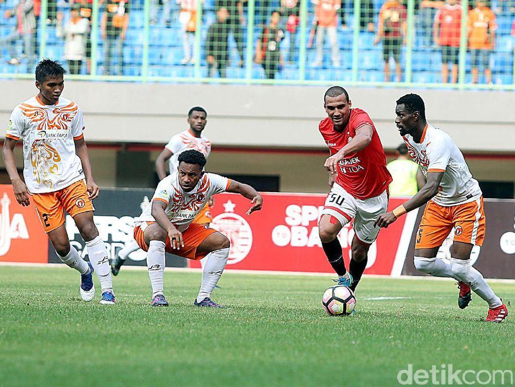 Macan Kemayoran Bungkam Perseru Serui 1-0