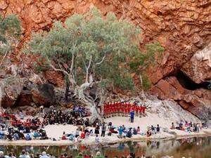 Ngarai Terpencil di Australia Diubah Jadi Panggung Konser