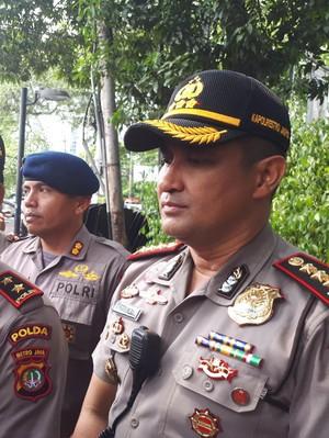 Kapolda Metro Pantau Pengamanan di LBH Jakarta