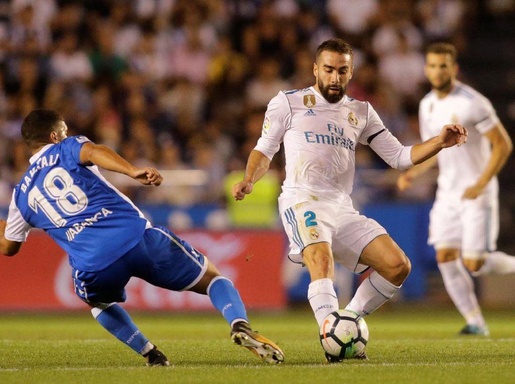 Teken Perpanjangan Kontrak, Carvajal di Madrid sampai 2022