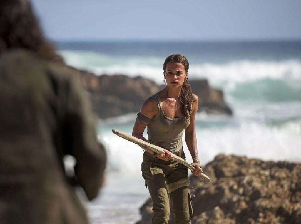 Ini Aksi Alicia Vikander Sebagai Lara Croft