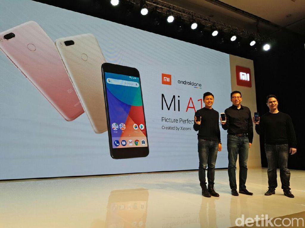 Resmi! Xiaomi Mi A1 Masuk Indonesia