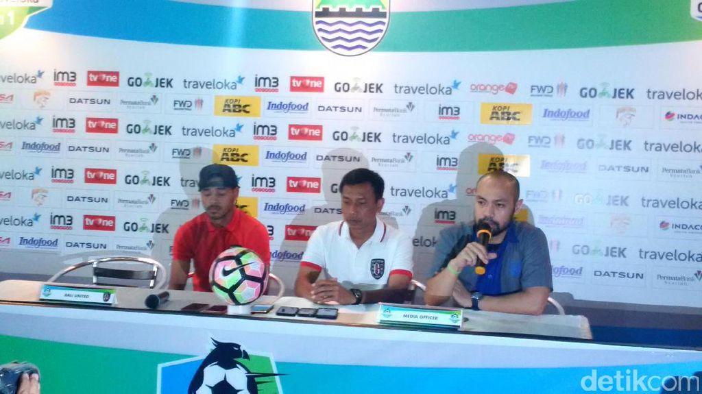 Persib yang Belum Kalah di Kandang Diwaspadai Bali United