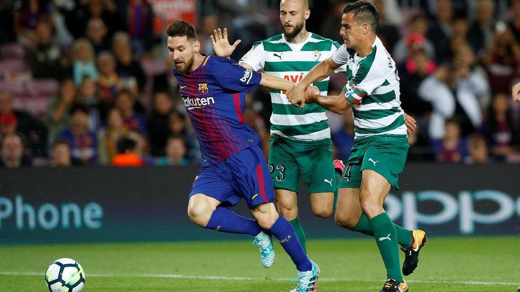 Messi Quat-trick, Barcelona Gilas Eibar 6-1