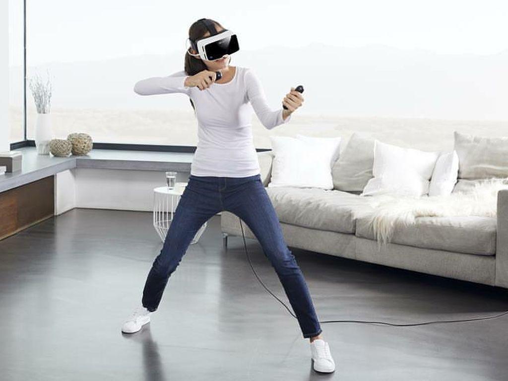Bebas Pusing Saat Menggunakan Headset VR