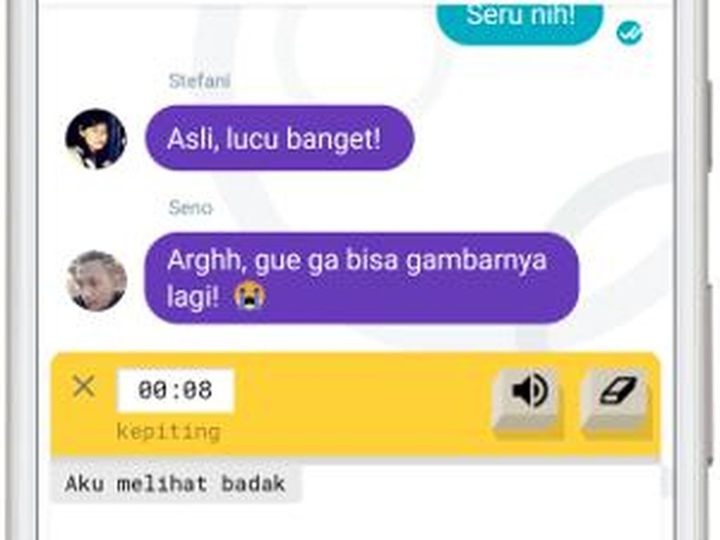 Chatting Anti Ngebosenin dengan Google Allo di YouTube FanFest