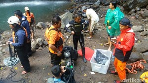 Wisatawan yang Hilang di Air Terjun Madakaripura Ditemukan