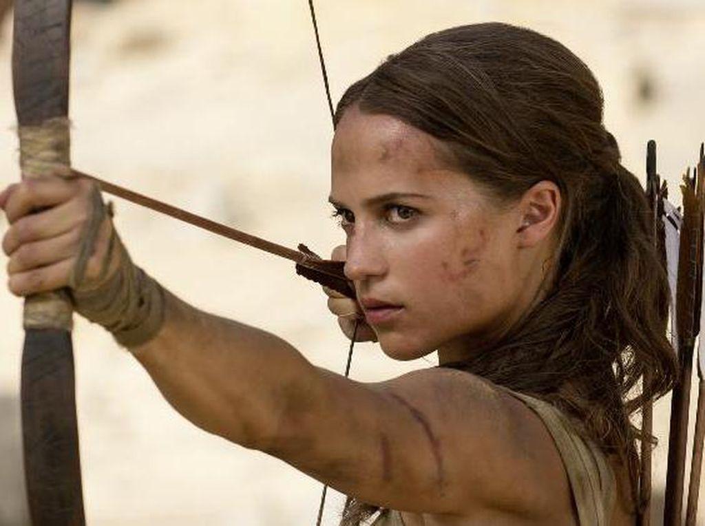 Curhat Alicia Vikander Selama Syuting Tomb Raider