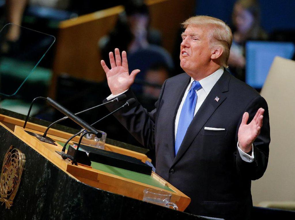 Trump Puji Aksi KPK Saudi yang Tangkap 11 Pangeran