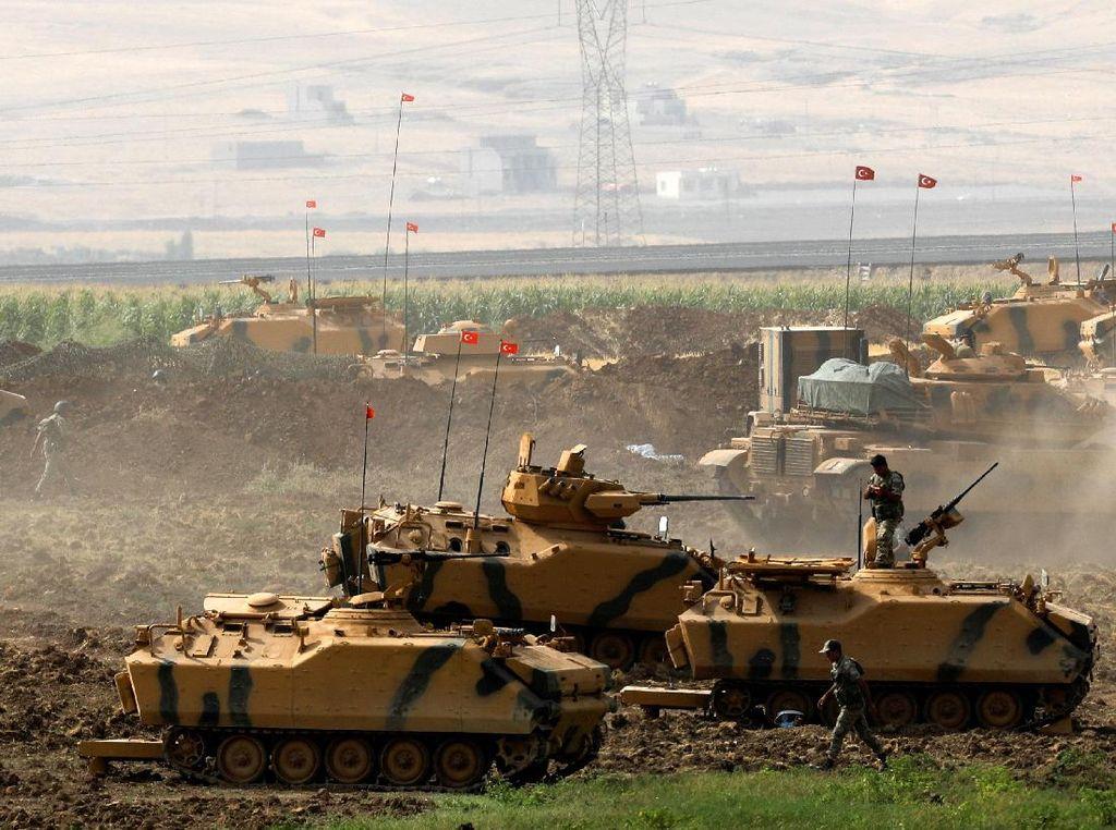 Pertempuran Sengit Warnai 9 Hari Operasi Olive Branch
