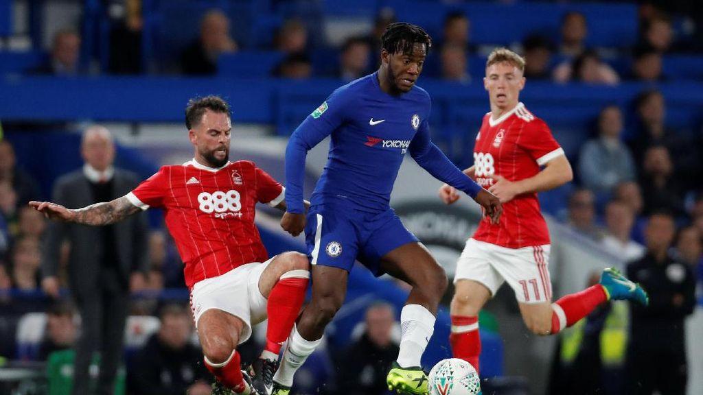 Batshuayi Hat-trick, Chelsea Lewati Nottingham Forest dengan Kemenangan 5-1