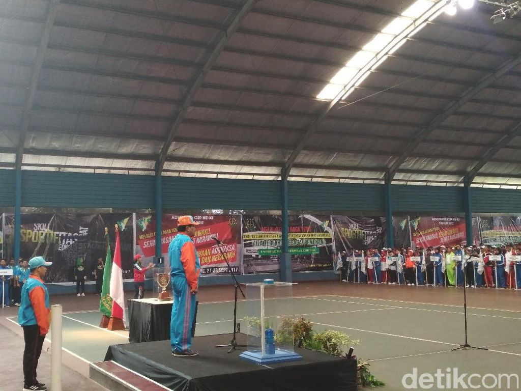 Jaksa Agung Buka Turnamen Tenis Kejati se-Indonesia