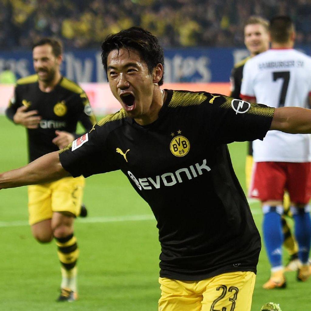 Dortmund Masih Tak Terkalahkan Usai Atasi Hamburg 3-0