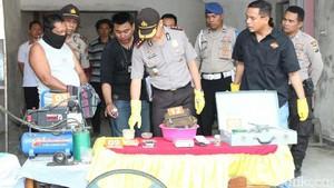 Pengolahan Hasil Tambang Emas Liar di Jember Digerebek Polisi