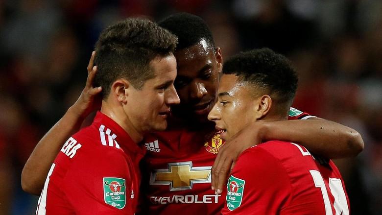 Performa Setan Merah Puaskan Mourinho