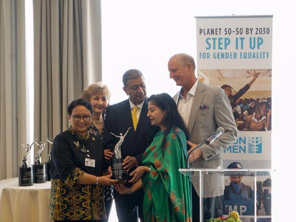 Penghargaan dari Badan PBB untuk Menlu Retno Sang Agen Perubahan