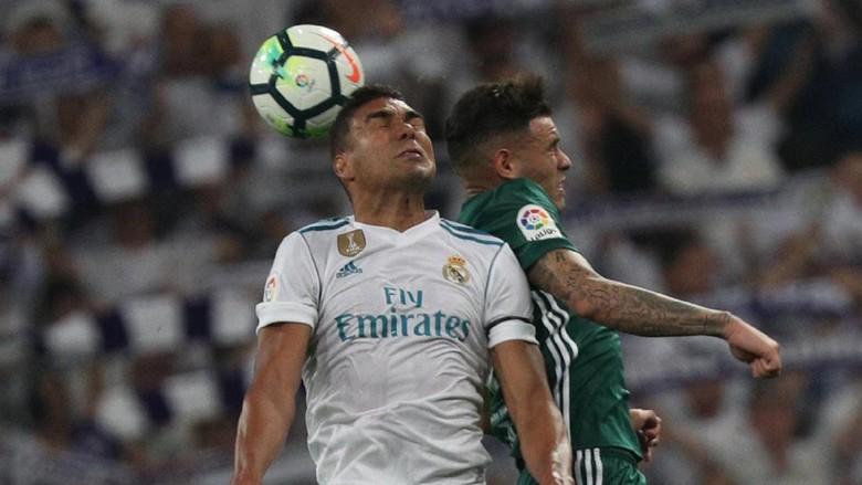 Madrid Dijegal Betis di Santiago Bernabeu