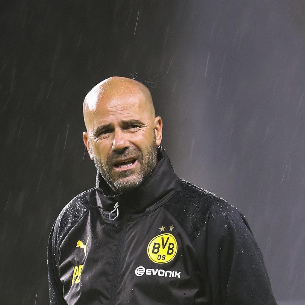Peter Bosz Ukir Rekor Usai Dortmund Menang atas Hamburg